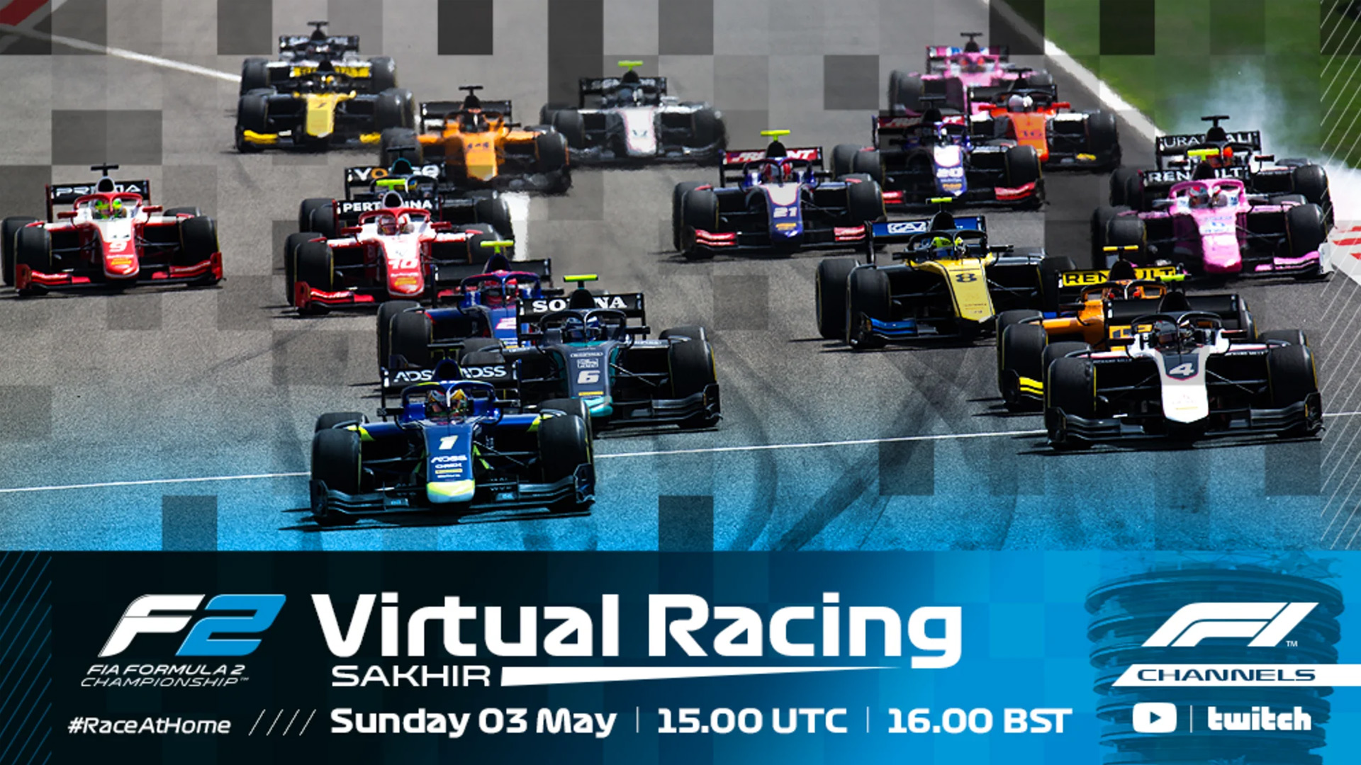 Watch Live Join Our Stream Of The Opening Round Of F2 F3 Virtual Racing Formula 1