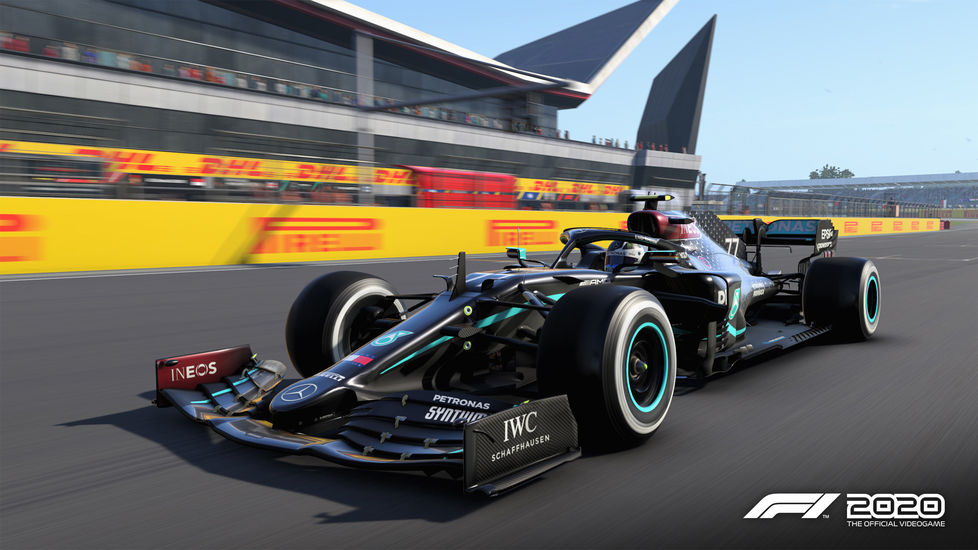 Codemasters Update F1 2020 Game With Mercedes New Black Livery Formula 1