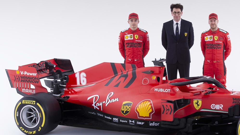 Ferrari S 2020 Title Challenger Sf1000 Built On Extreme Concepts Binotto Formula 1
