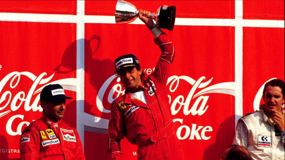 Gerhard Berger celebrates Italy 88.jpg