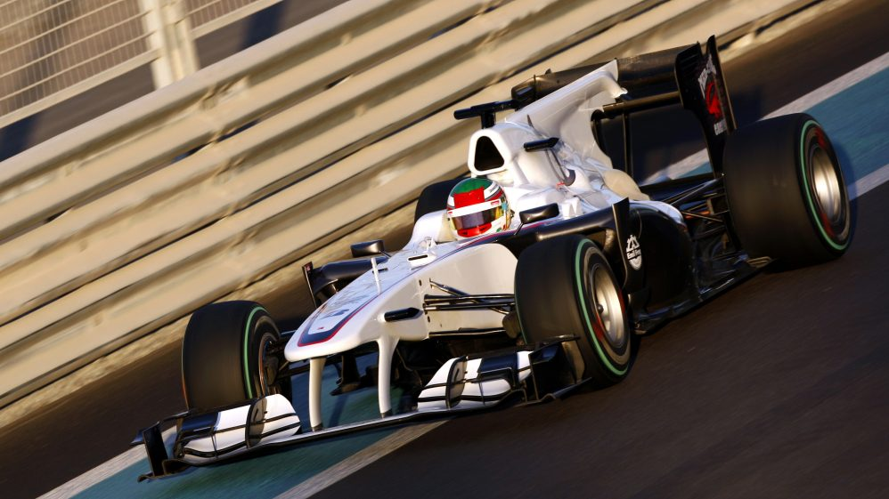 Formula One Young Driver Test