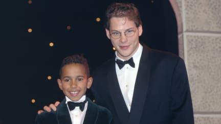 Lewis Hamilton and Jacques Villeneuve.jpg