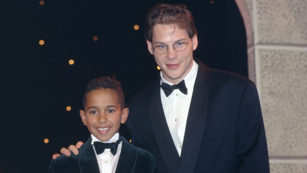 Lewis Hamilton and Jacques Villeneuve.jpg