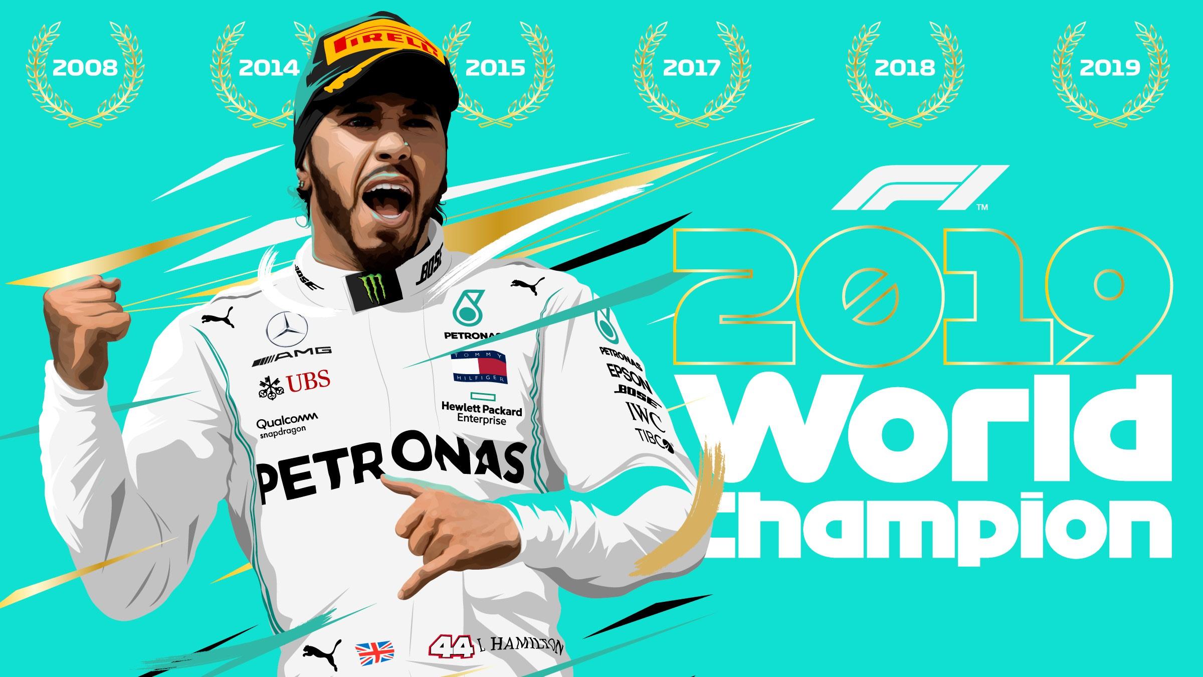 Lewis Hamilton Wins British GP 2014 Cap POSTER