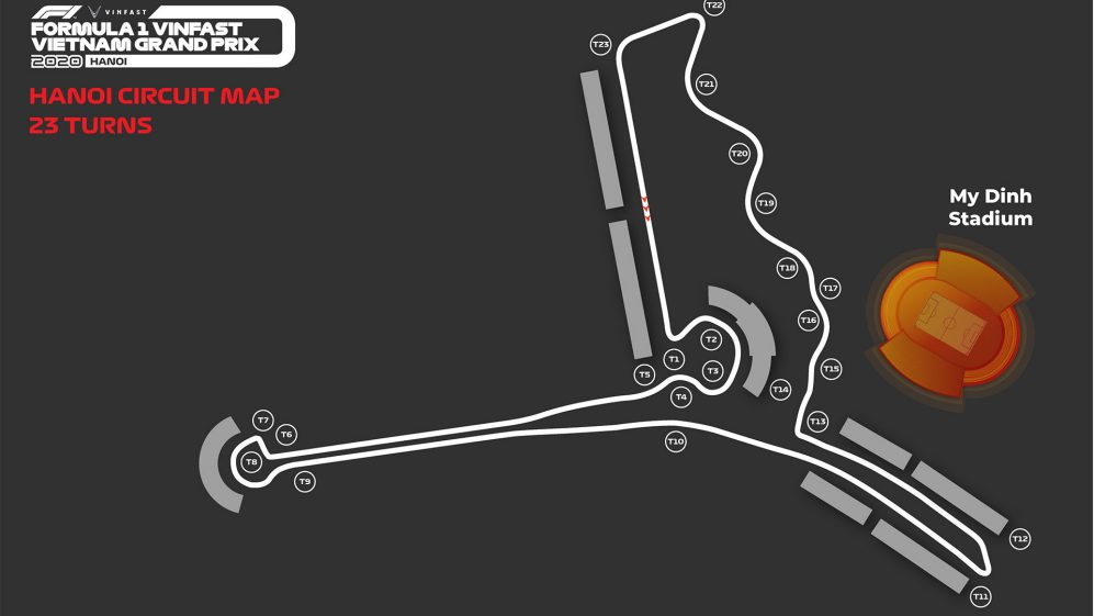 REVEALED: New Vietnam F1 circuit layout after extra corner added | Formula 1®