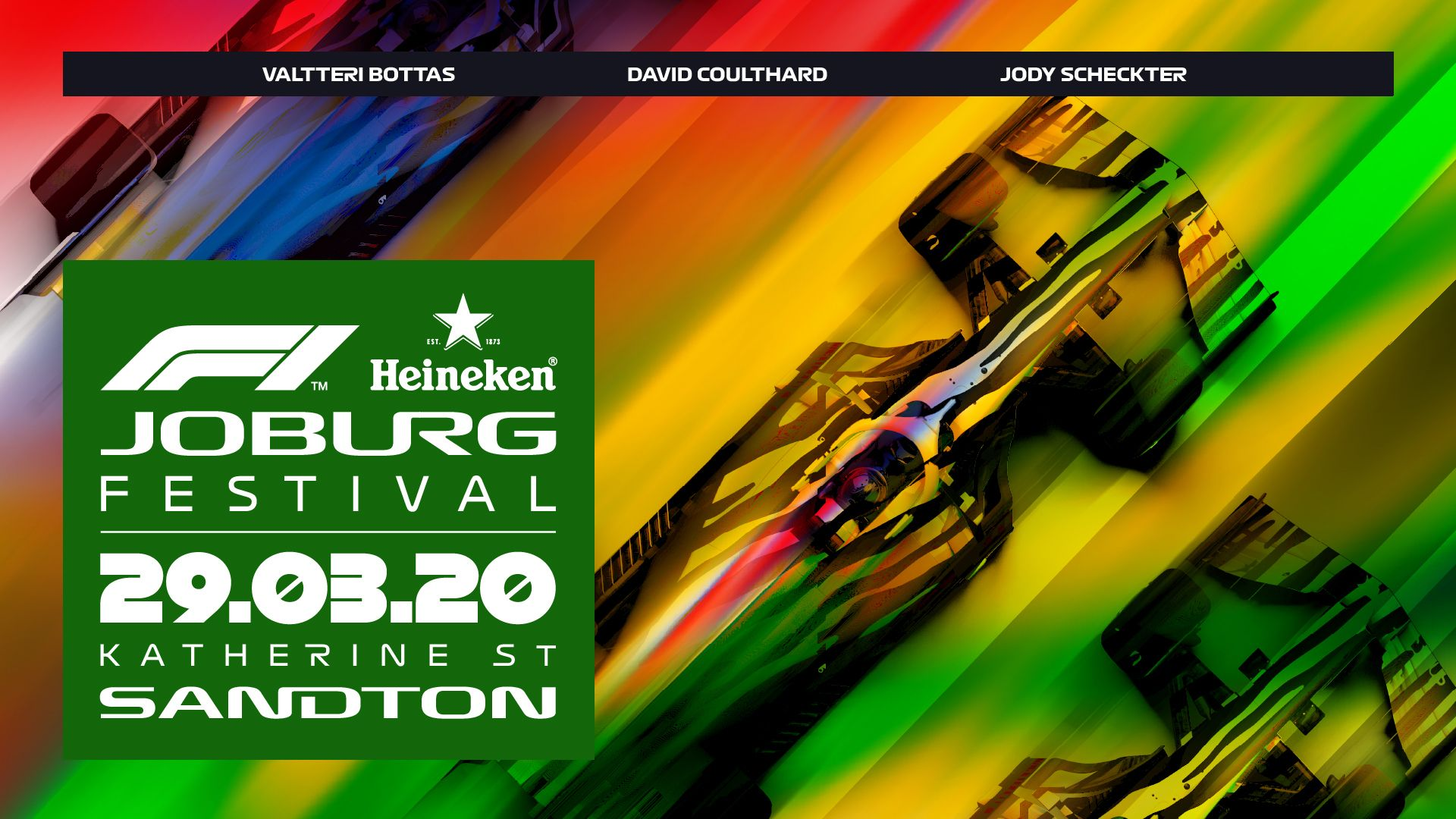 F1 and Heineken to bring spectacle of racing back to South Africa with Joburg festival | Formula 1®