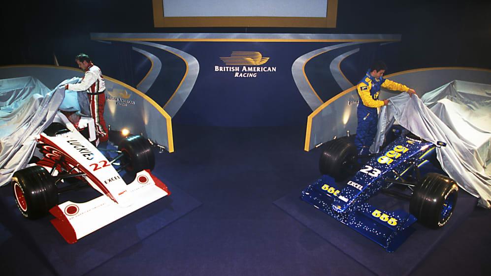 British American Racing Launch