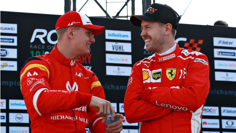 Mick Schumacher Sebastian Vettel Race of Champions.jpg