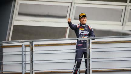 Tadasuke Makino podium.jpg