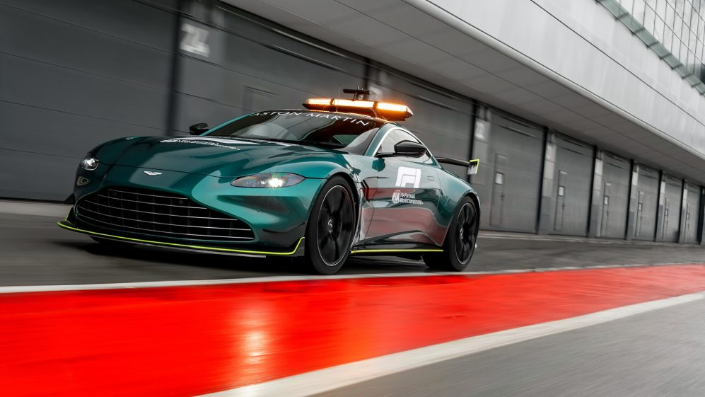 Check Out The New Mercedes And Aston Martin Safety And Medical Cars For 2021 Formula 1