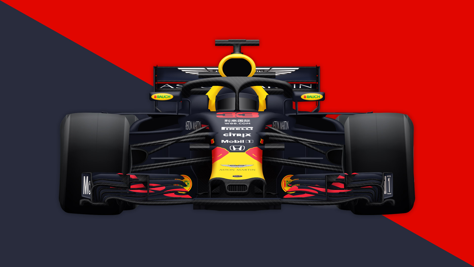 Red Bull Racing Team Preview Best And Worst Case Scenarios For The F1 Team In 2019 Formula 1