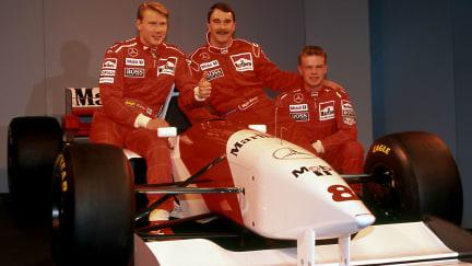 McLaren MP4-10 Launch