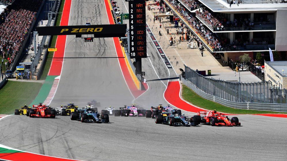 United States Grand Prix >> United States Grand Prix At The Circuit Of The Americas Voted Best
