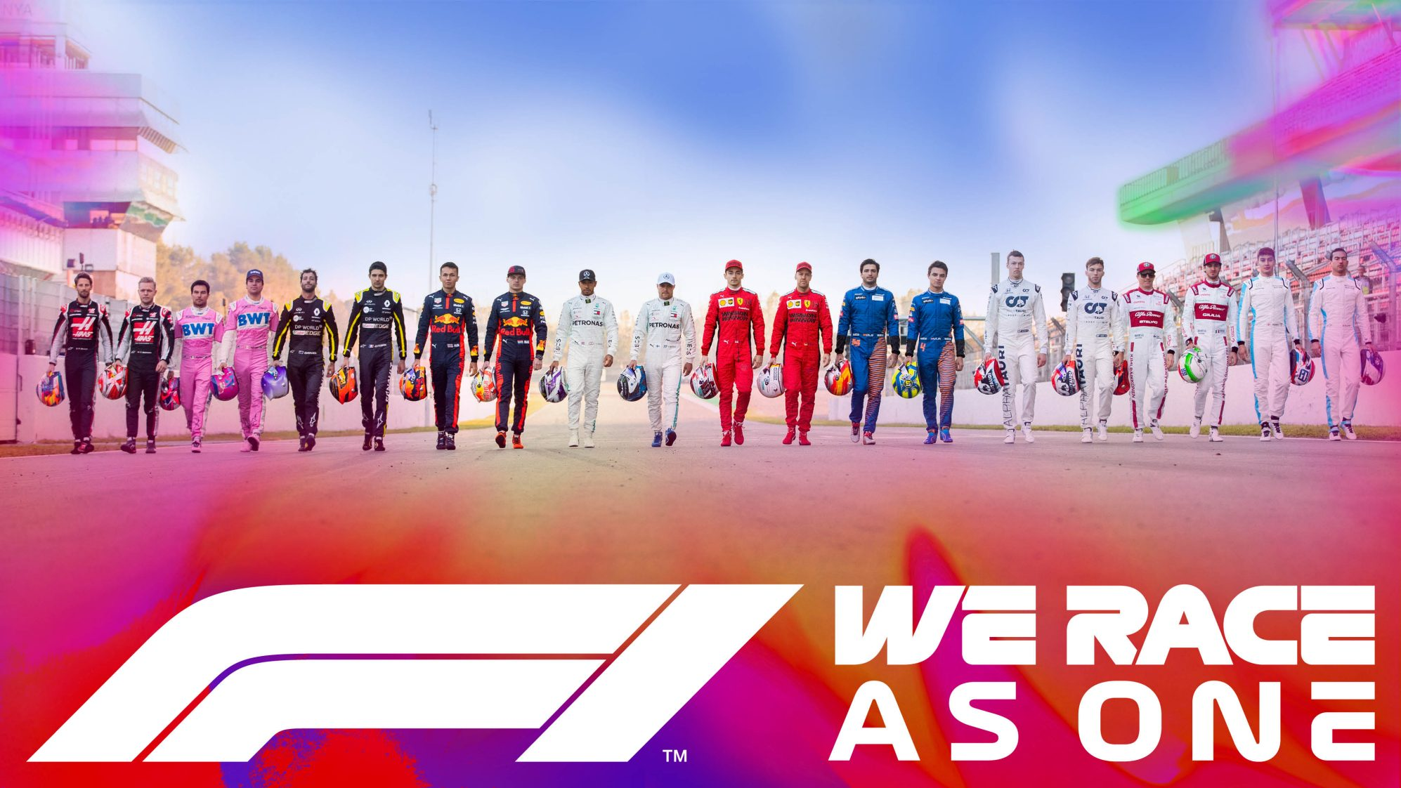 Formula 1 launches #WeRaceAsOne initiative to fight challenges of COVID-19 and global inequality