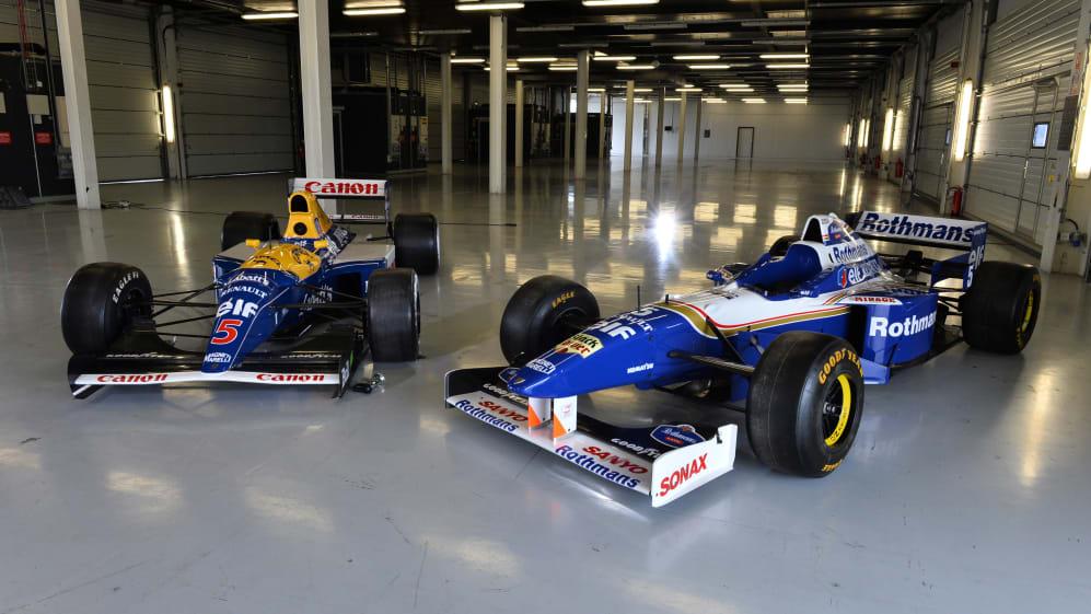 British GP winning drivers join Romain Grosjean at Silverstone