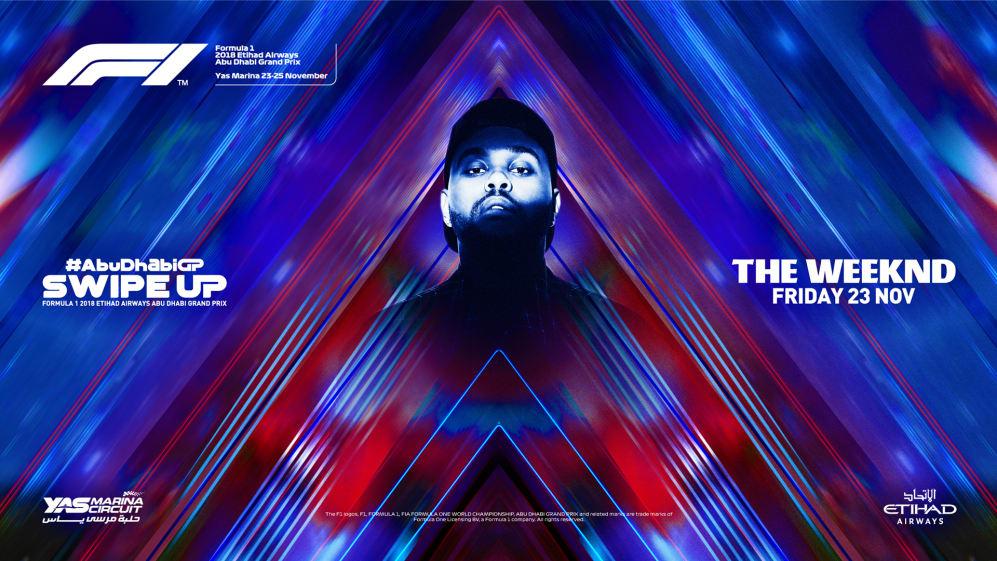 The Weeknd in Abu Dhabi