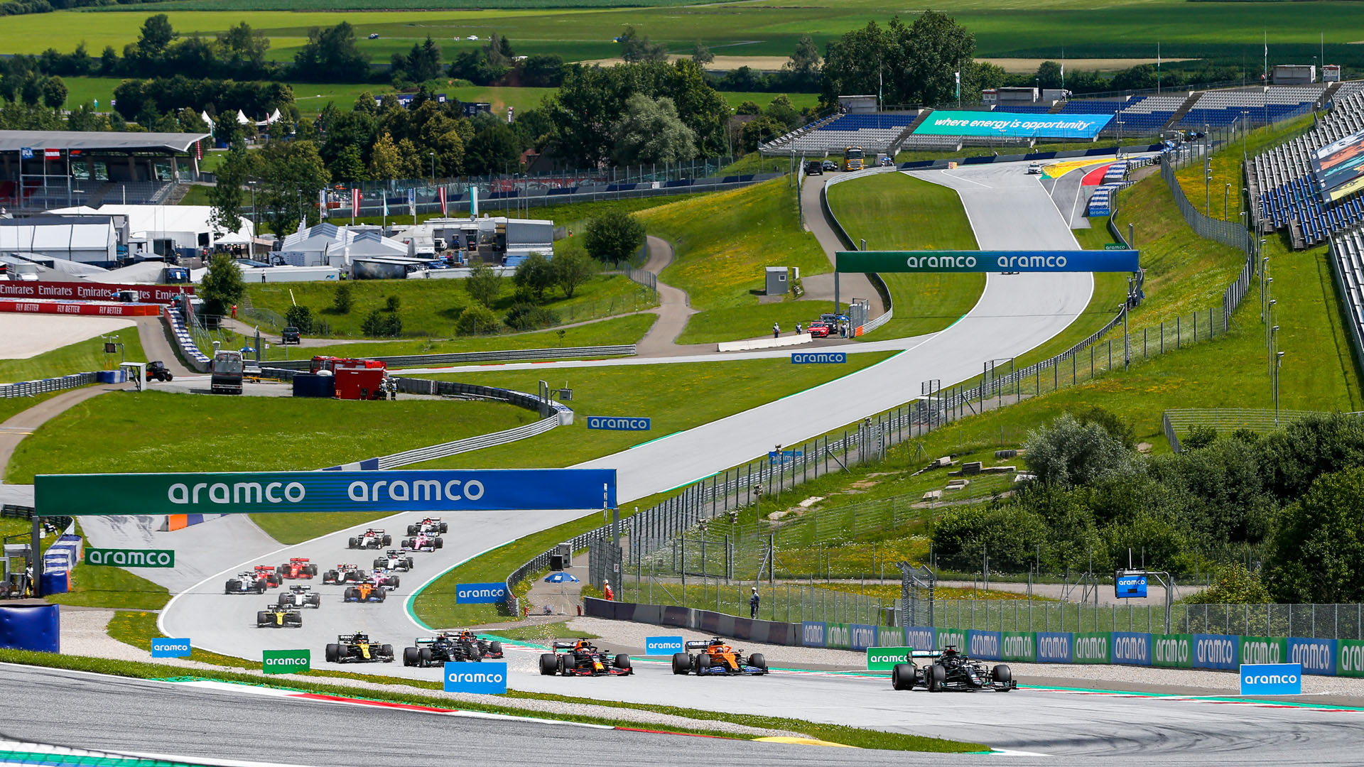 2021 F1 race calendar updated, as Turkey drops off and extra Austria race added