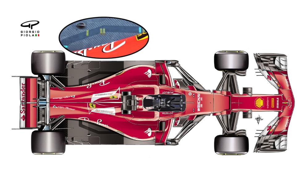 Ferrari SF70H - top view