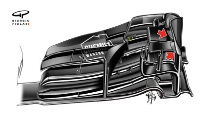 Williams FW40 - Melbourne front wing