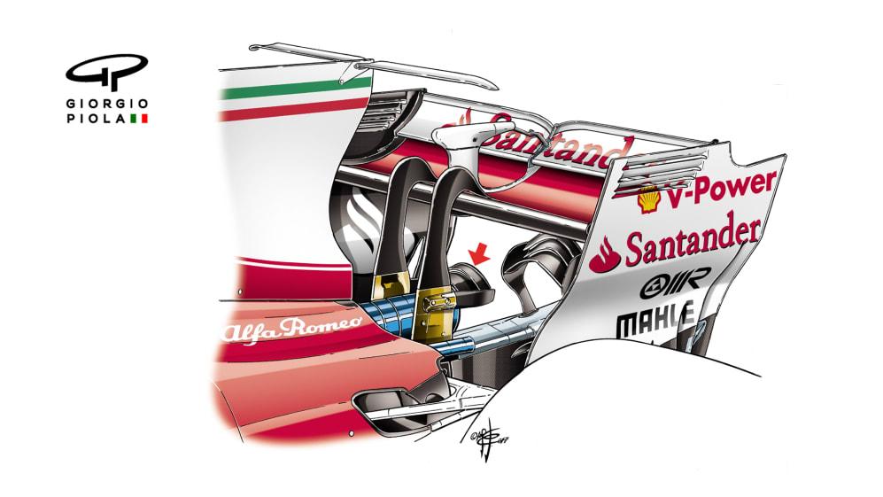Ferrari SF70H - double monkey seat, Russia