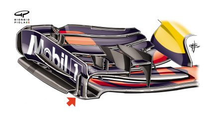 Red Bull RB13 - Montreal front wing