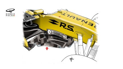 Renault R.S. 17 - Hungary barge boards