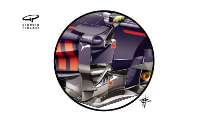 Red Bull RB13 - Hungary barge boards