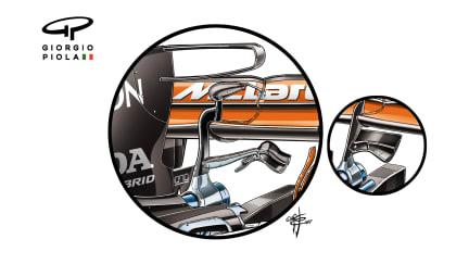 McLaren MCL32 - Hungary monkey seat