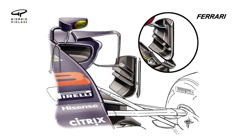 Red Bull RB13 - Singapore barge boards