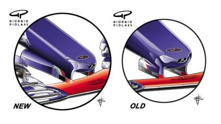 Toro Rosso STR12 - Japan nose