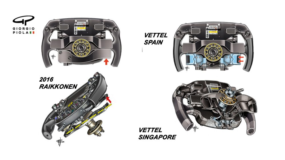 Tech Tuesday Why Vettel S Ferrari Steering Wheel Continues To Evolve