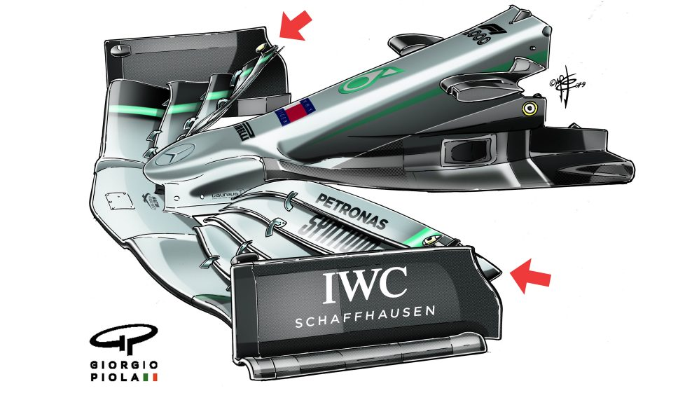 TECH TUESDAY: The tiny infraction that forced Mercedes