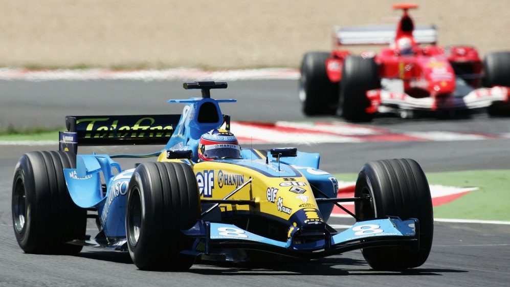 TECH TUESDAY: How the 2005 Renault R25 finally ended Ferrari's dominance  and delivered Alonso's first title | Formula 1®