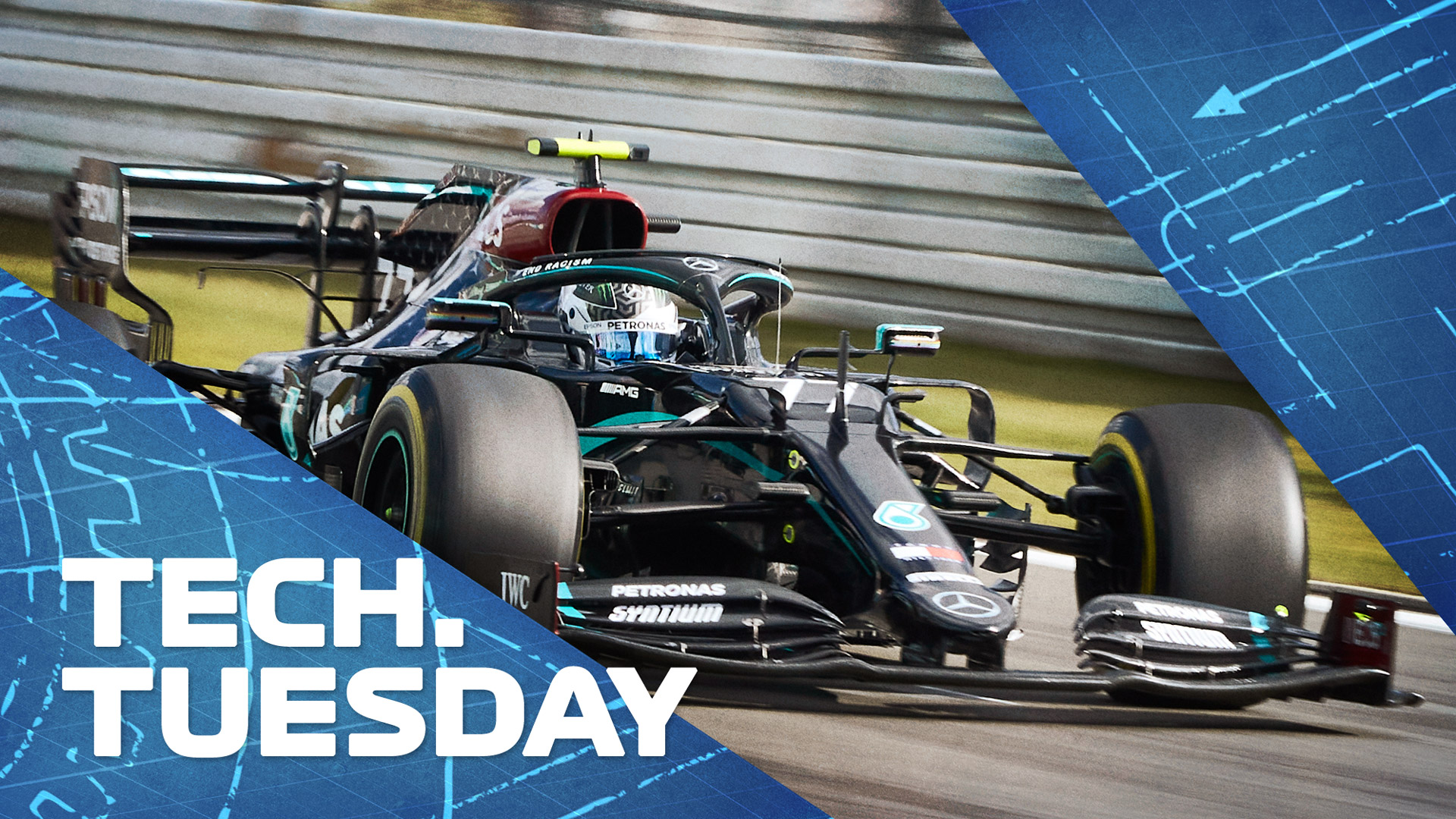 TECH TUESDAY: Why the 2021 aero tweaks combined with new tyres could shake up the order next year | Formula 1®