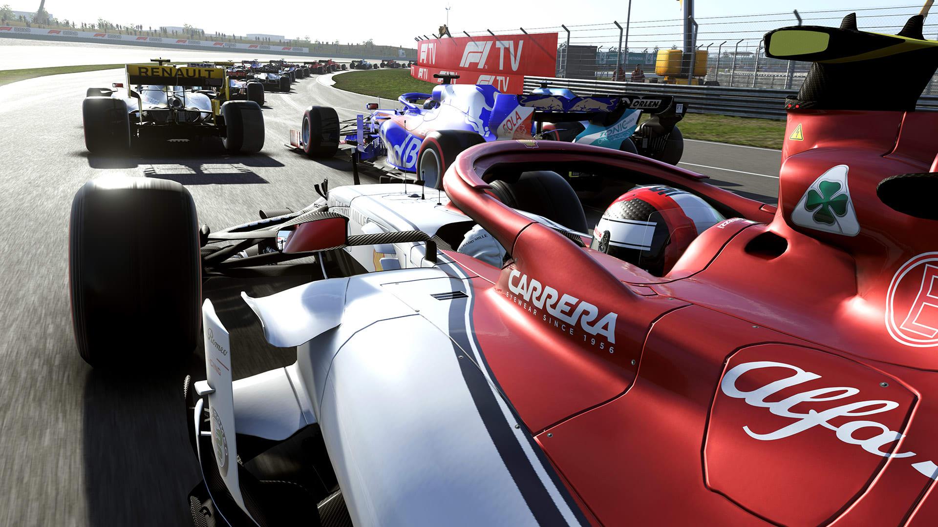 F1 Esports 2020 booms, F1 2021 starting