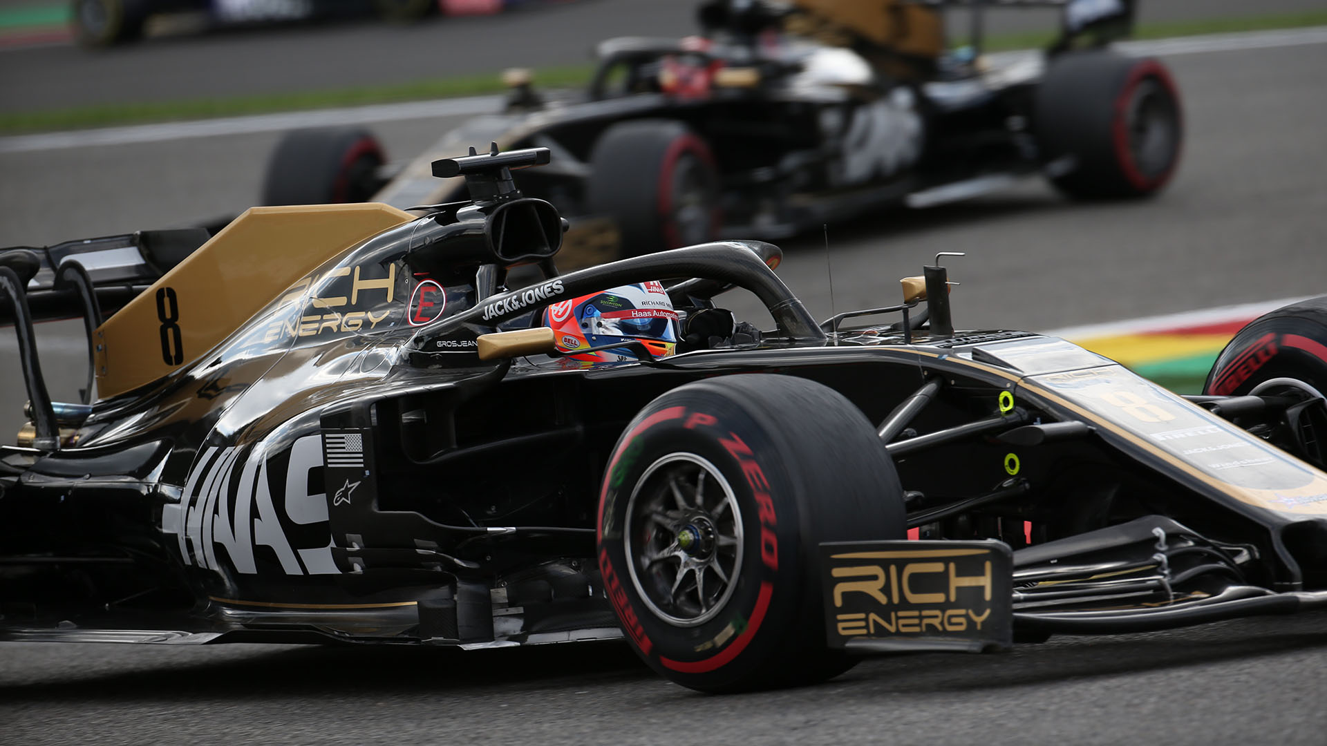Haas Team2019 F1 Racer Wallpapers: Haas Part Ways With Title Sponsors Rich Energy