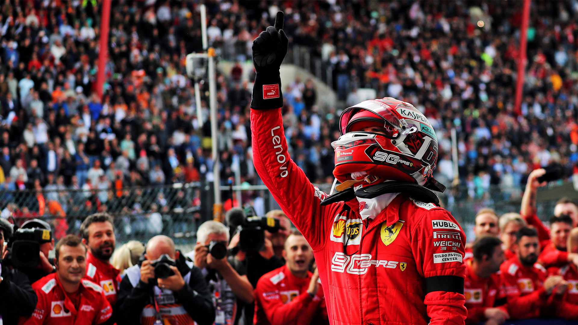Charles Leclerc Expecting A Great Welcome From Tifosi At