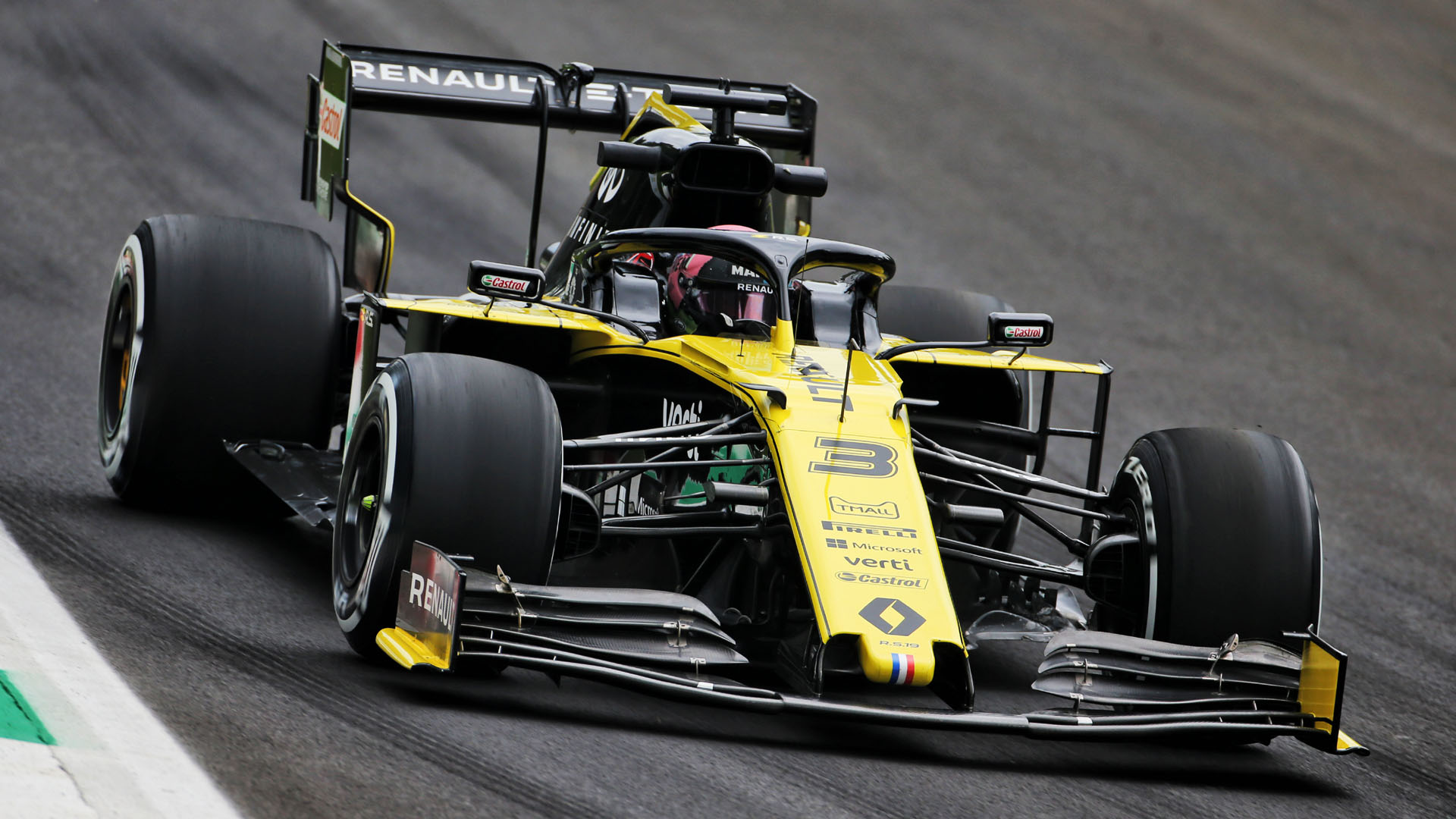 Ricciardo: Renault's surprise Monza pace 'easy' to extract