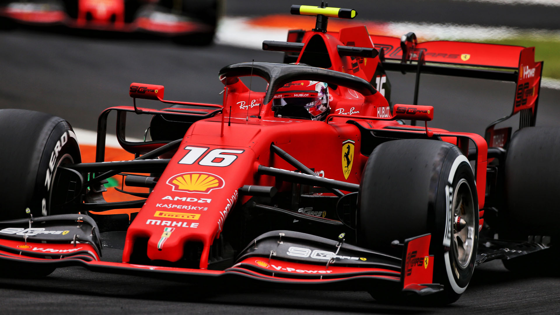 Italian Grand Prix 2019 Fp2 Report Leclerc Leads Hamilton In Second Practice As Rain Continues At Monza Formula 1