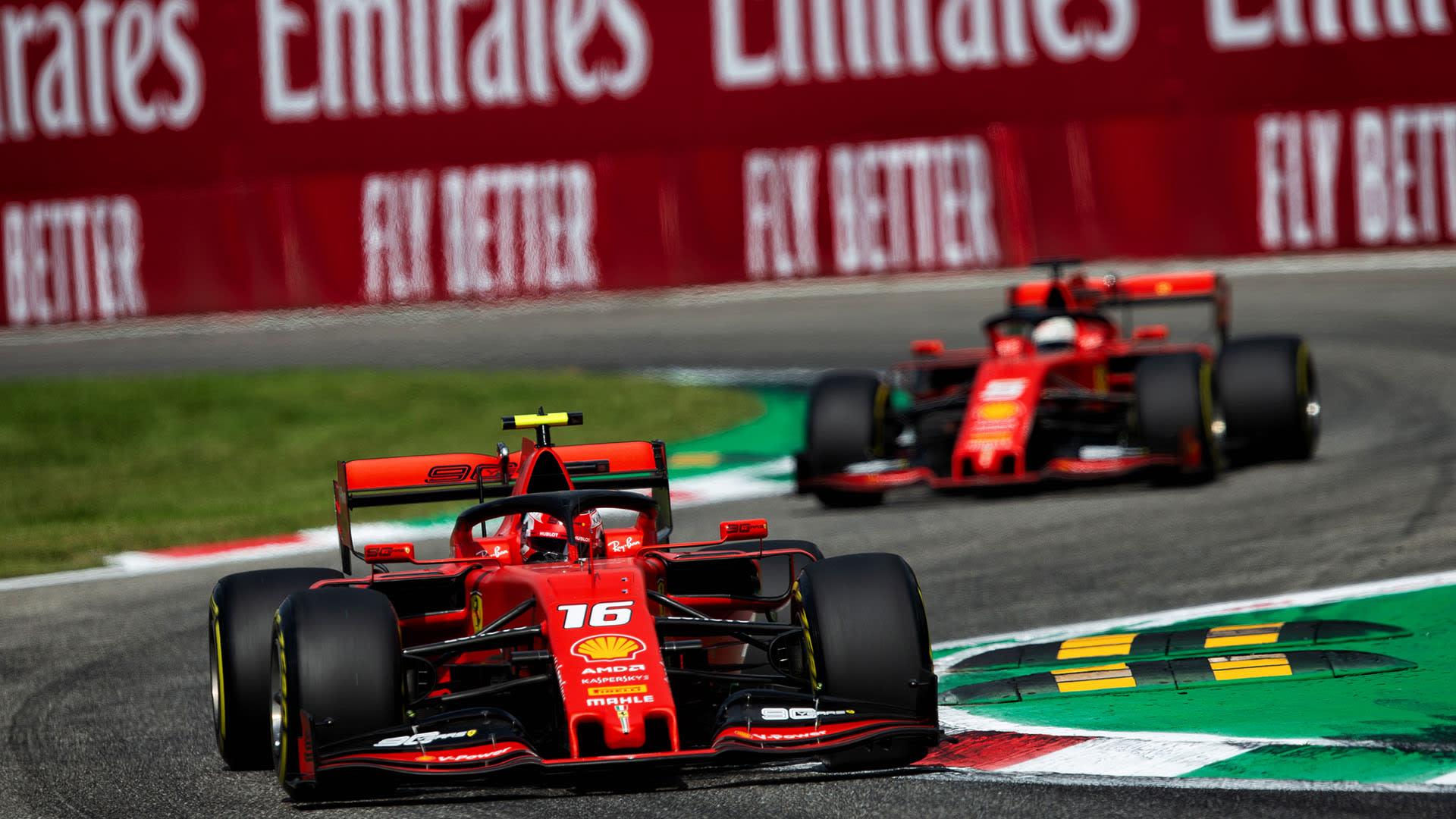 Ferrari Did Not Stick To Monza Qualifying Gameplan Says