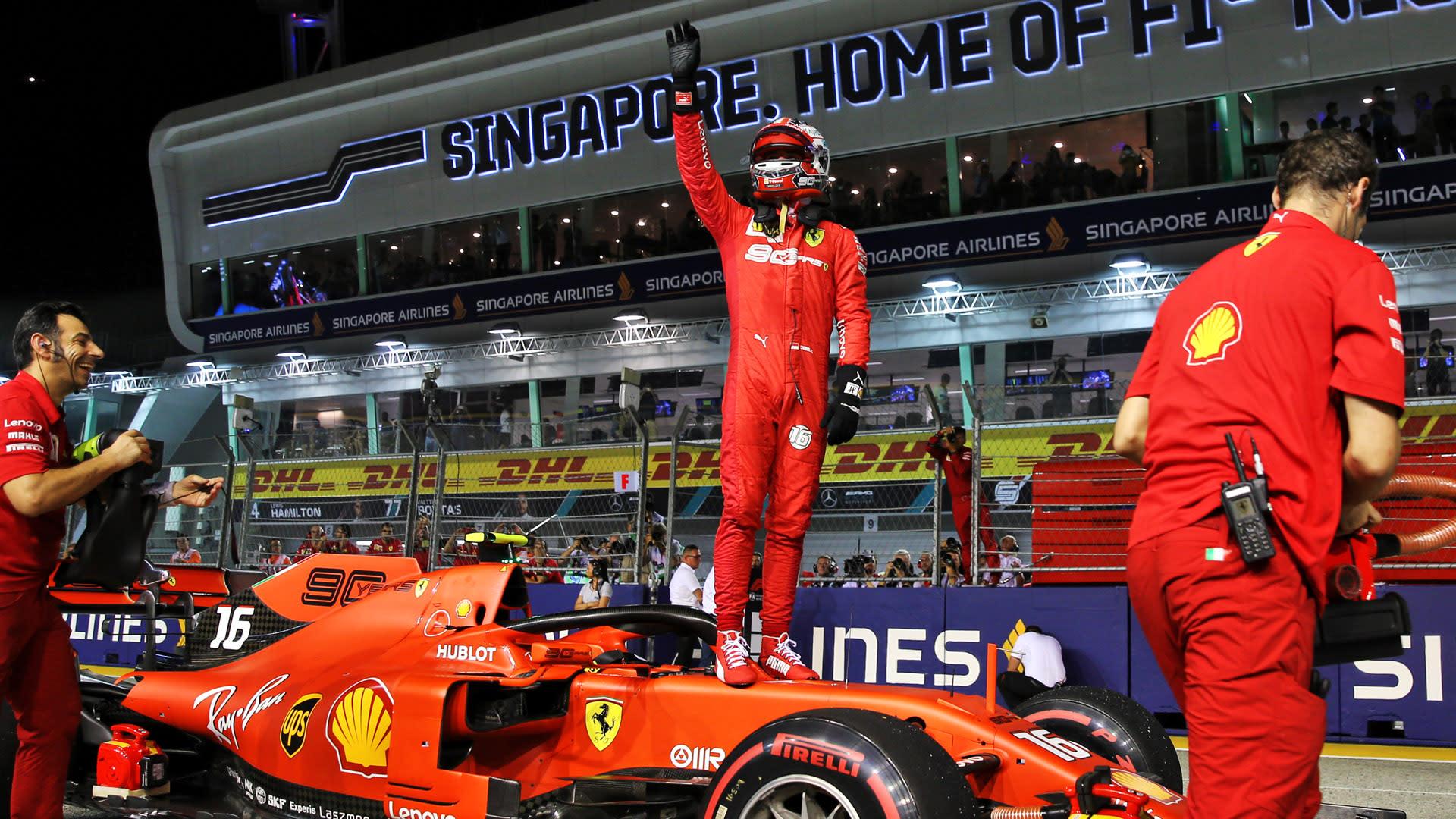 formel 1 singapur 2019