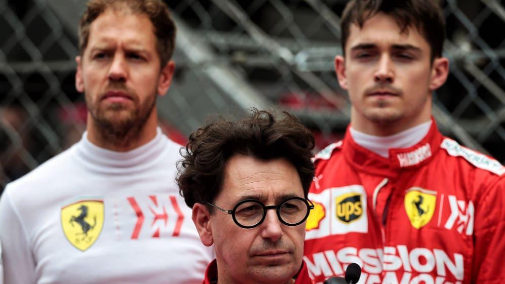 No risk of 'losing control' of drivers, say Ferrari | Formula 1®