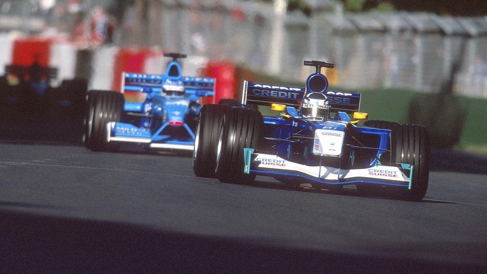 2001 Qantas Australian Grand Prix.