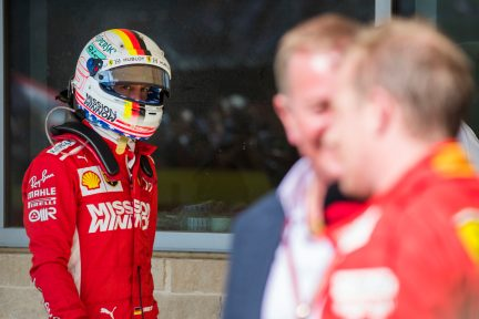 Vettel faces grid penalty for US Grand Prix red flag error