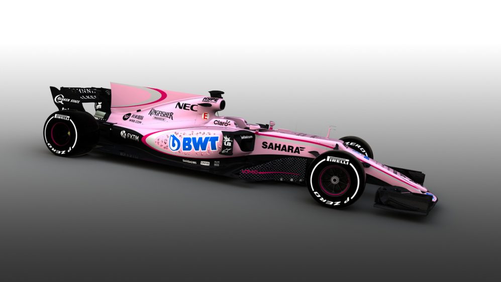 Sahara Force India F1 VJM10 Livery Reveal