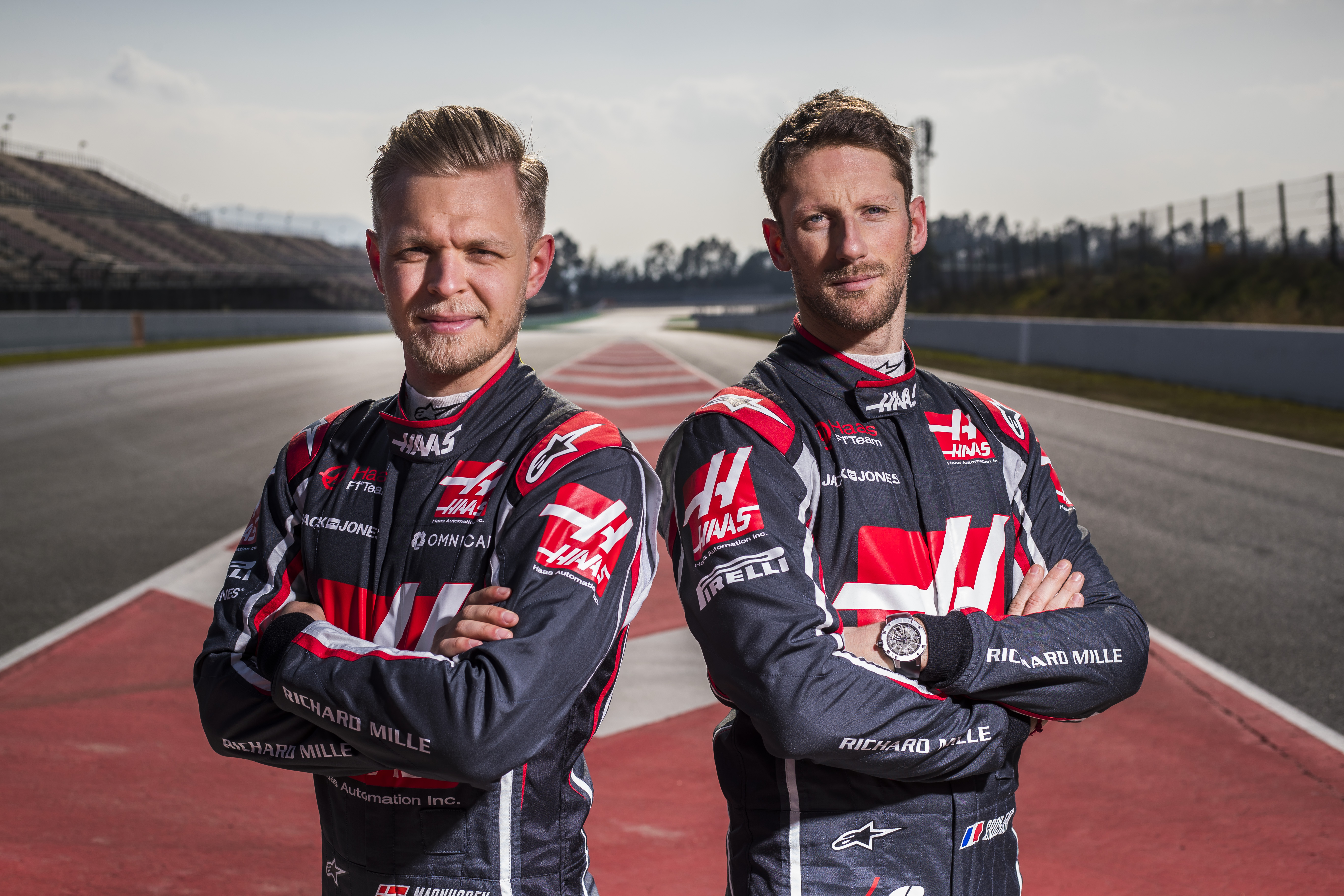 Haas Retain Magnussen And Grosjean For 2019 Formula 1
