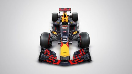 What wrong with red bull f1 car