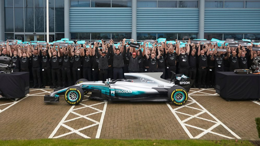 Mercedes' 2017 World Championship Celebrations - Brackley & Brixworth
