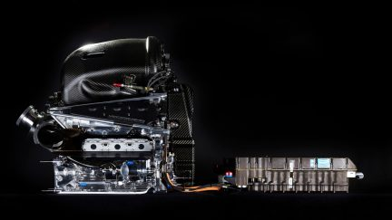 The Mercedes PU106C Hybrid power unit