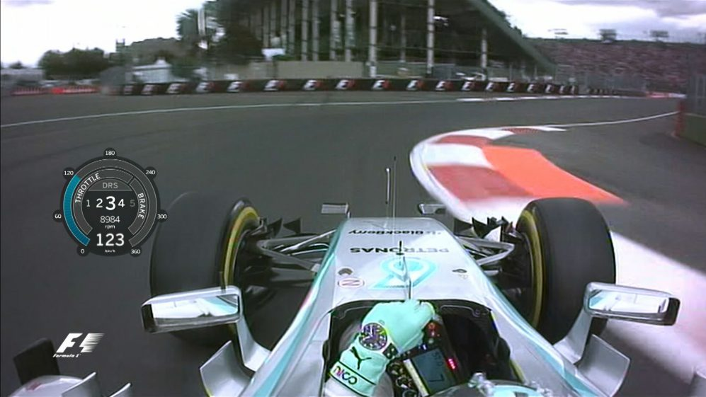Onboard pole position lap - Mexico